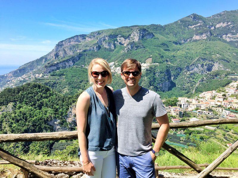 Joe and Sarah exploring Thailand.