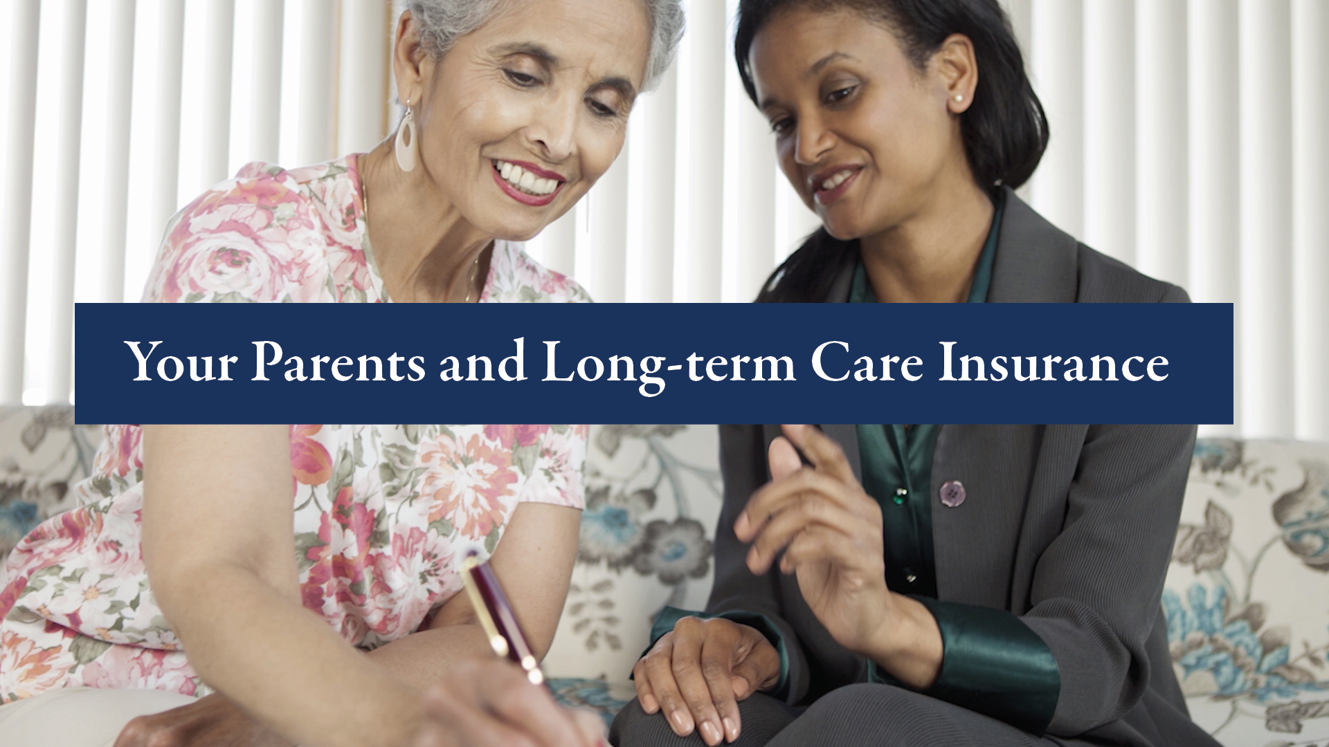 Your parents and long-term care insurance