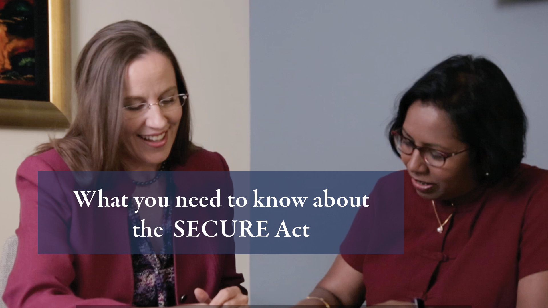 SECURE act video thumbnail
